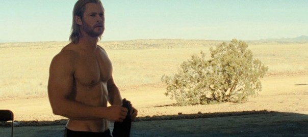Chris Hemsworth Shirtless in Thor
